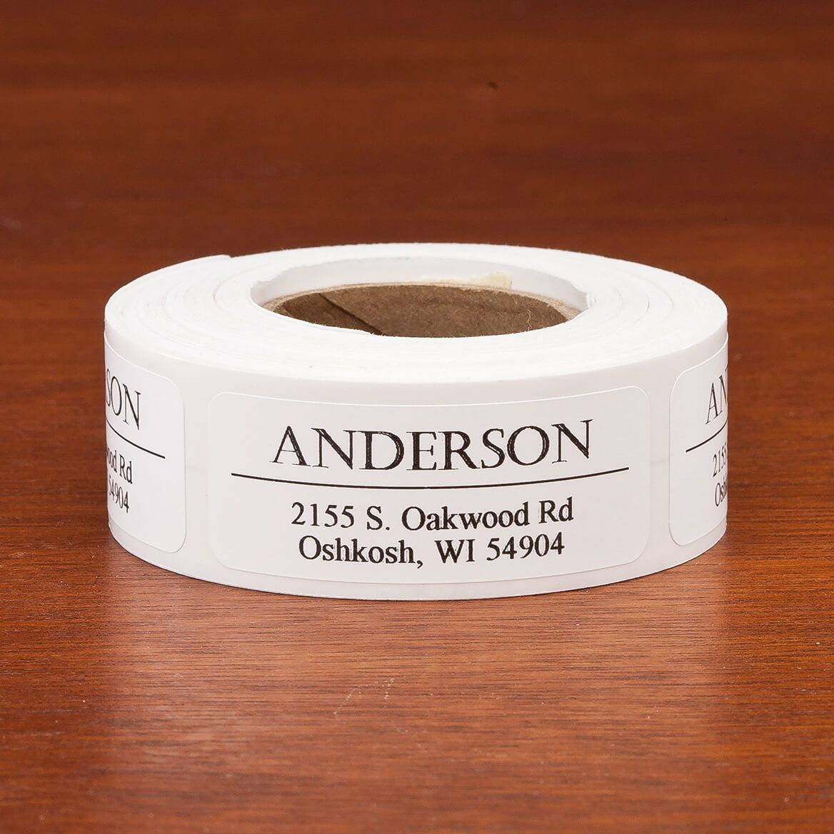 Personalized Bold and Centered Address Labels, Set of 200-357463