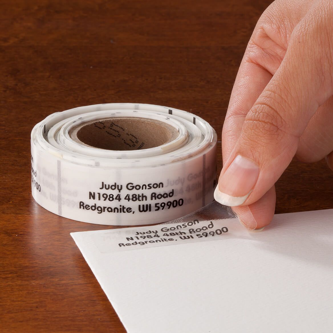 Personalized Clear Address Labels 200-357470