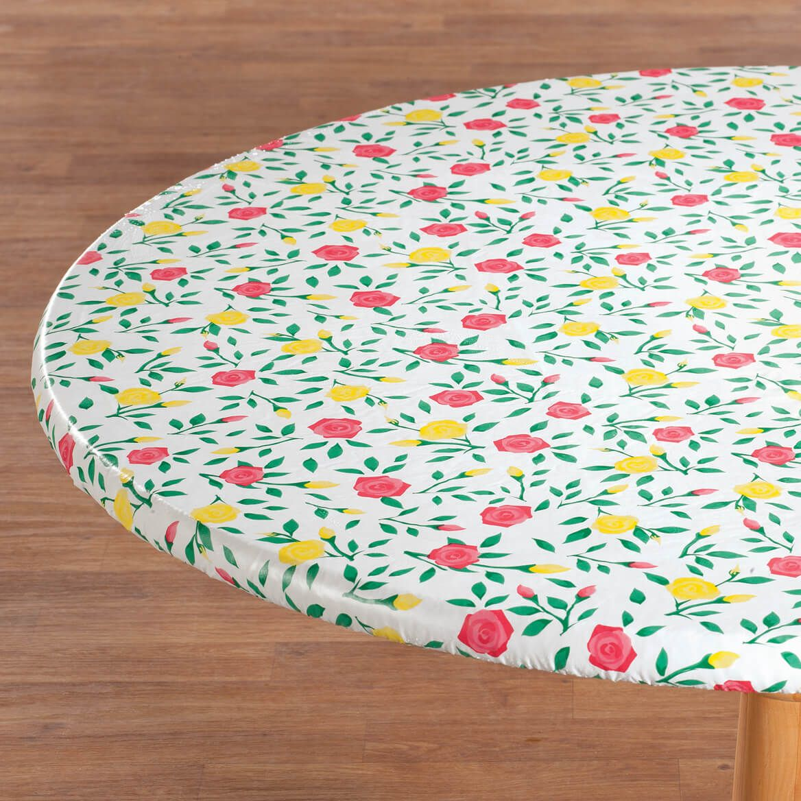 Buds 'n Blooms Vinyl Elasticized Tablecovers-357625