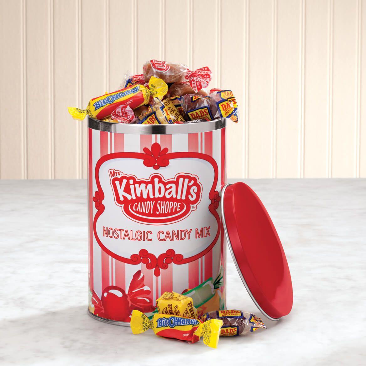 Mrs. Kimball's Candy Shoppe Nostalgic Candy Mix Keepsake Tin-357626