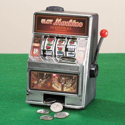 Small Slot Machine and Bank-357986