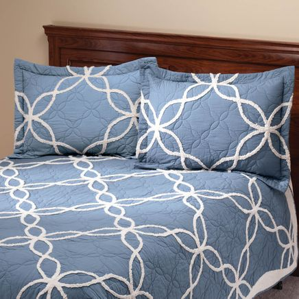 The Sophie Sham with Chenille Tufting by OakRidge™-358133