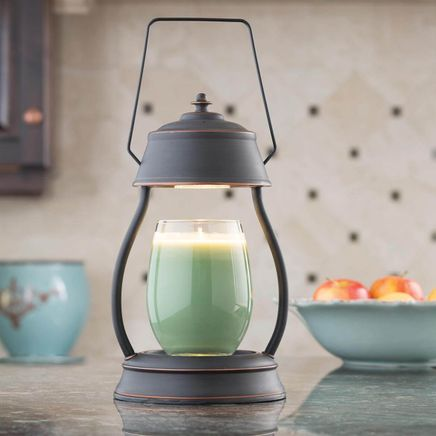 Oil Rubbed Bronze Hurricane™ Candle Warmer Lantern-358218