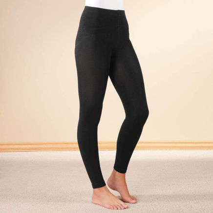 Fleece Lined Leggings by Sawyer Creek-358369