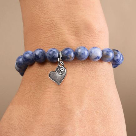 Weight Loss Bracelet with Heart Charm-358628