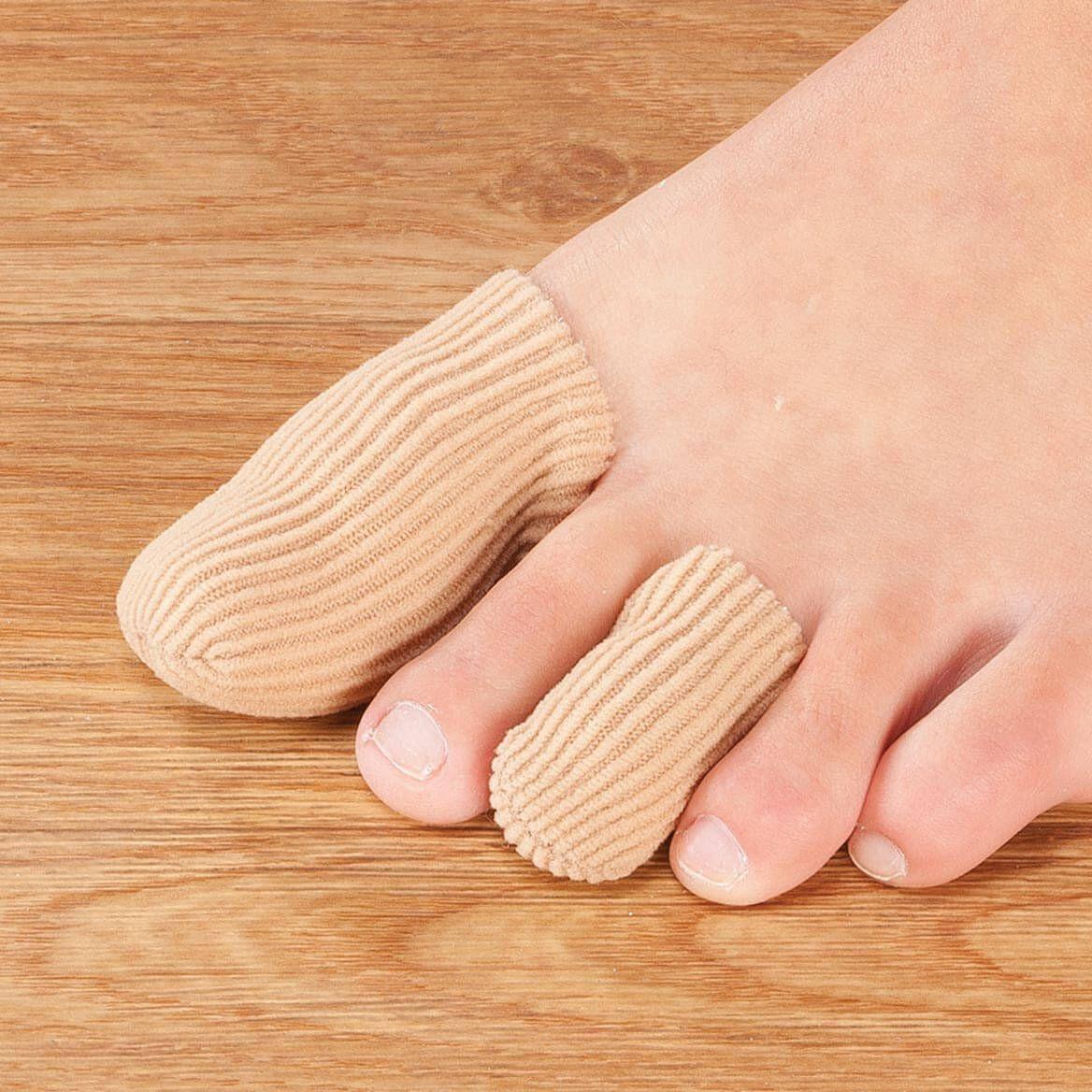 Silver Steps™ Antibacterial Toe or Finger Caps, Set of 4-358775