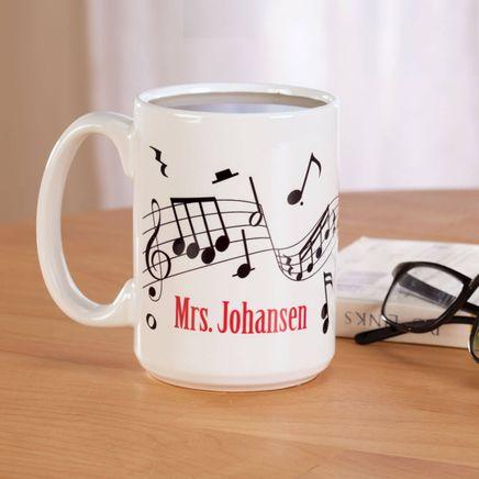 Personalized Musical Notes Mug-358870