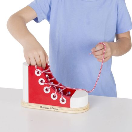Melissa & Doug® Personalized Lacing Shoe-359116