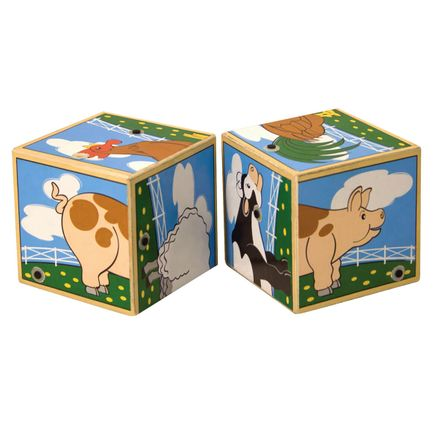 Melissa & Doug® Personalized Farm Sounds Blocks-359127