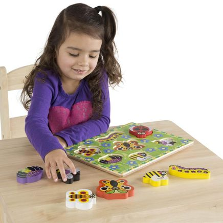 Melissa & Doug® Personalized Insects Chunky Puzzle-359131
