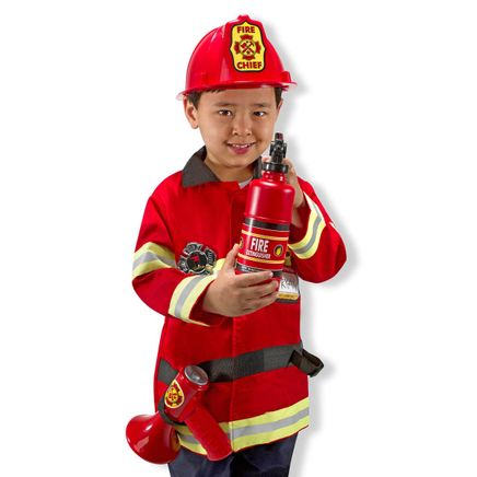 Melissa & Doug® Personalized Fire Chief Costume Set-359139