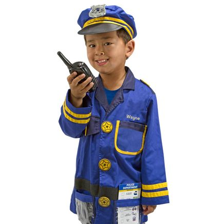 Melissa & Doug® Personalized Police Officer Costume Set-359140