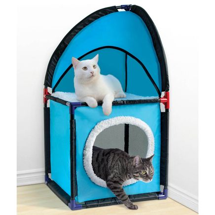 Two-Tier Cat Tower-359184