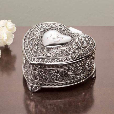 Personalized Antique Heart Keepsake Box-359428