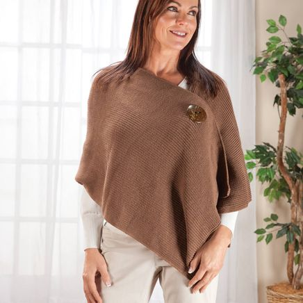 One Button Shawl by Sawyer Creek-359431
