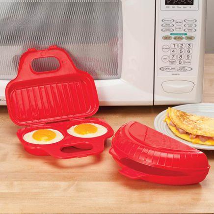 Microwavable Egg Poacher and Omelet Maker - Set of 2-359740