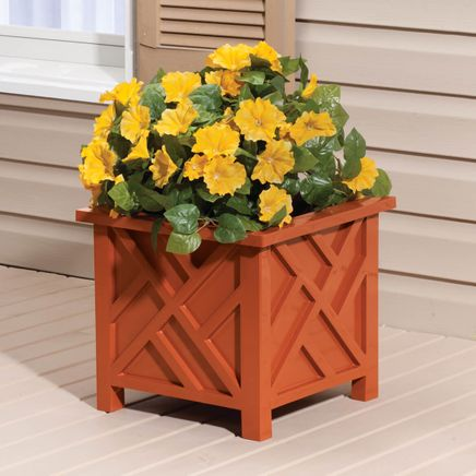 Terra Cotta Chippendale Planter-359987