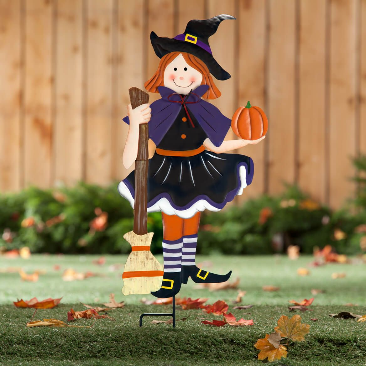 Metal Trick-or-Treat Girl by Fox River Creations™-360035