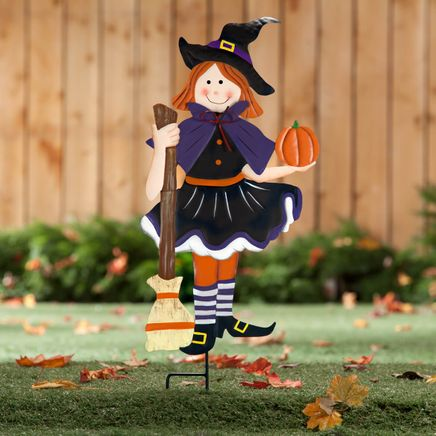 Metal Trick-or-Treat Girl by Fox River™ Creations-360035
