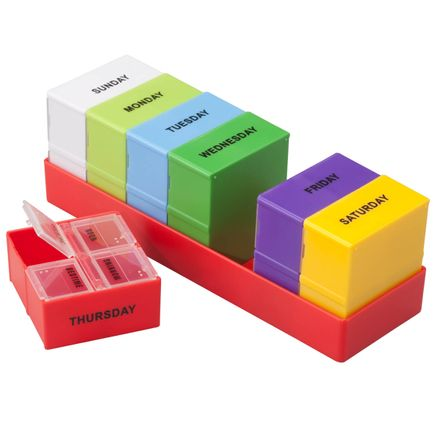 7 Day - 4 Compartment Pill Organizer-360047