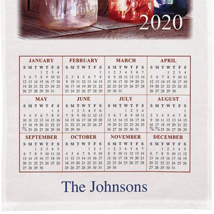 Personalized God Bless America Calendar Towel-360134