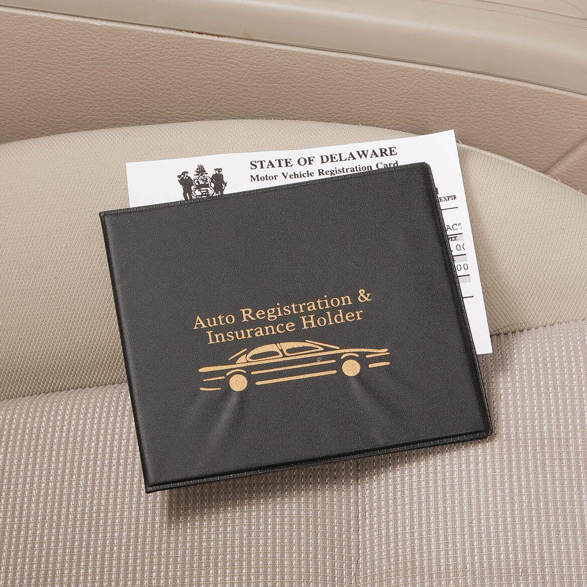 Auto Registration & Insurance Holder-360316