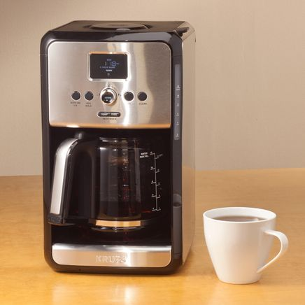 Krups® Savoy Programmable 12-Cup Stainless Steel Coffee Maker-360440