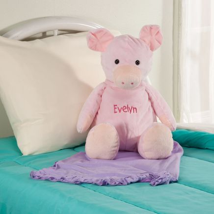 Personalized Stuffed Pig-360673