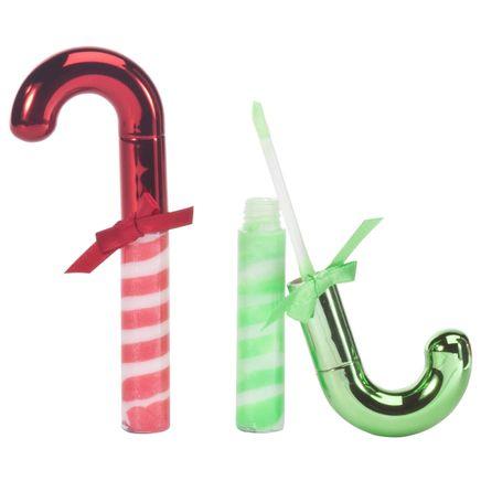 Candy Cane Lip Gloss, Set of 2-360893