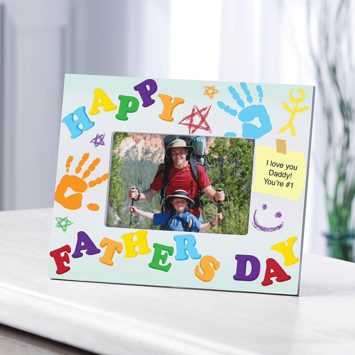 Personalized Kids Creation Fathers Day Frame-361172