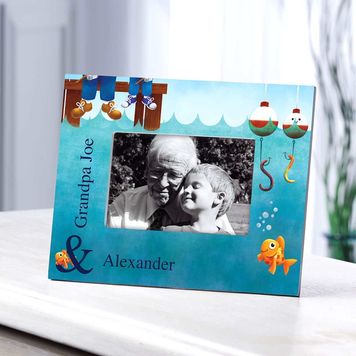 Personalized Gone Fishing Frame-361175