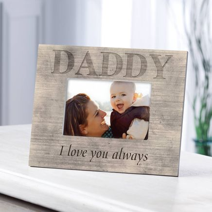 Personalized Photo Frame for Dad – Shiplap Daddy Frame-361183