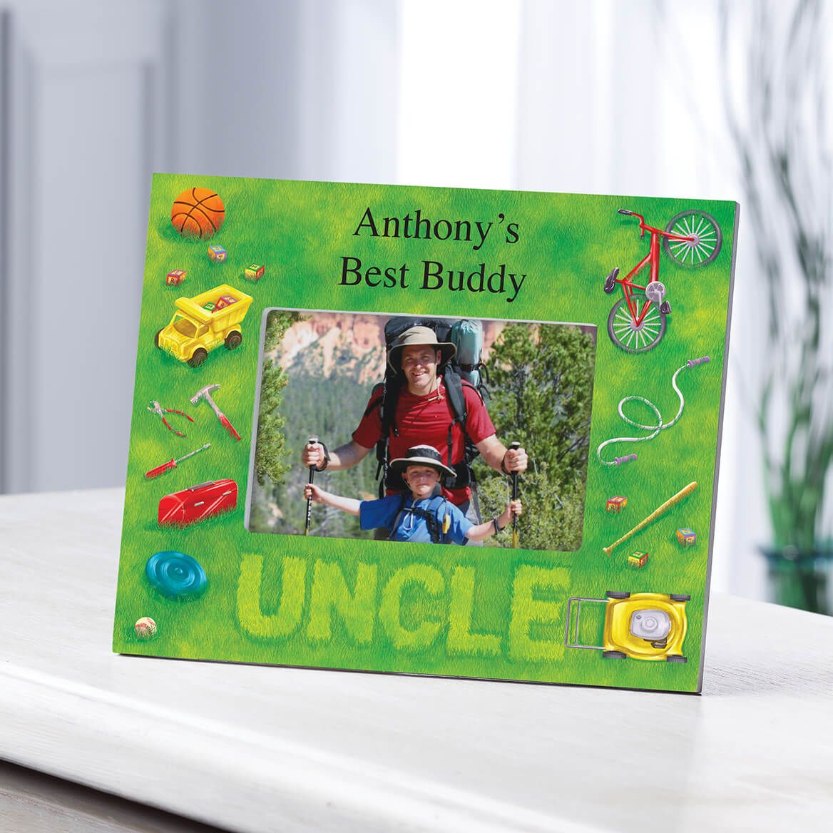 Personalized Lawn Words Uncle Frame-361190
