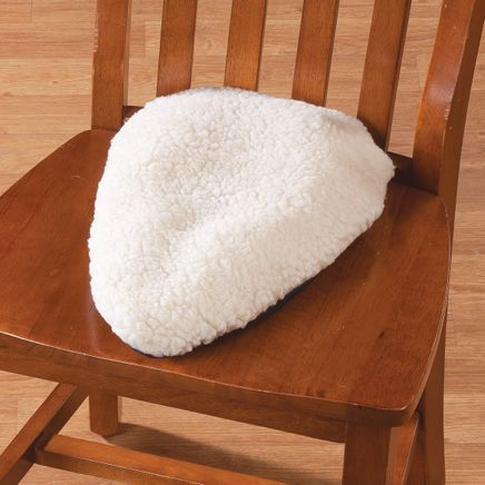 Sciatica Pillow with Sherpa Cover-361208