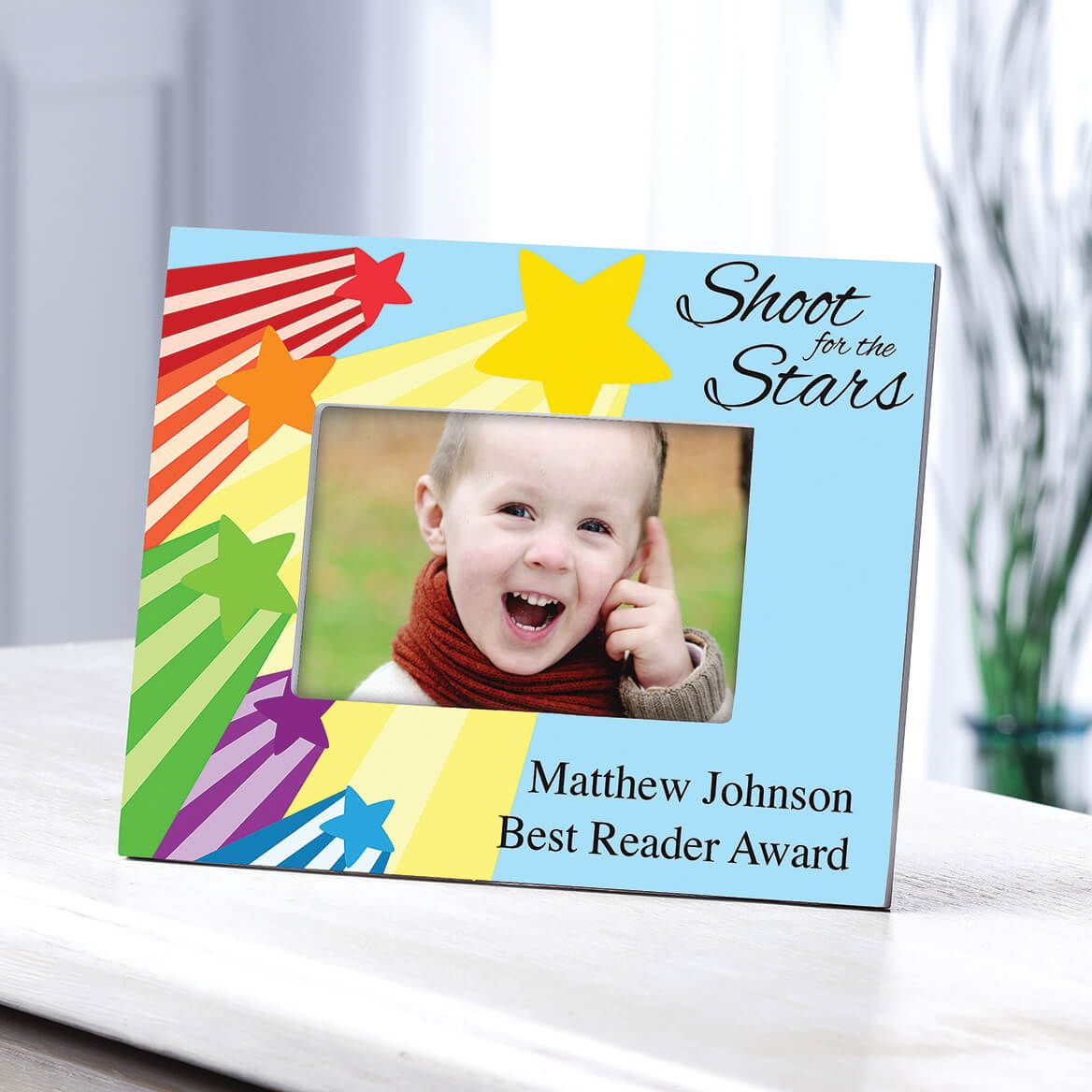 Personalized Shoot For The Stars Frame Horizontal-361264