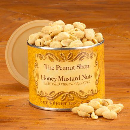 The Peanut Shop® Honey Mustard Peanuts, 10.5 oz.-361393