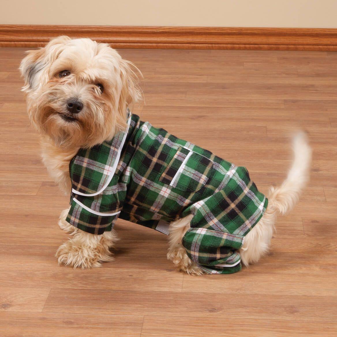 Green Plaid Dog Pajamas-361473