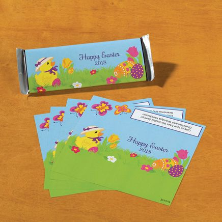 Personalized Candy Bar Wrappers Chick-361579