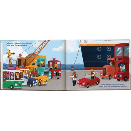 Personalized My Very Own® Trucks Storybook-361599