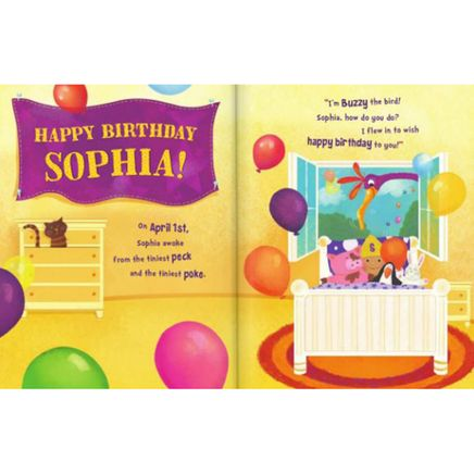 Personalized It's My Birthday Storybook-361601