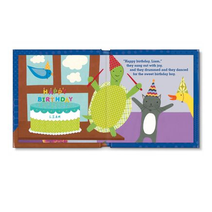 Personalized My Very Happy Birthday for Boys Storybook-361614