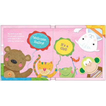 Personalized Hello World! for Girls Storybook-361616