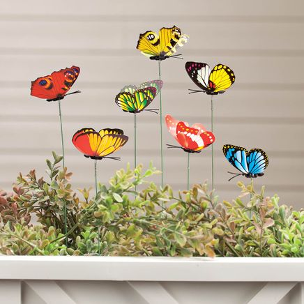 Butterfly Garden Stakes, Set of 24-361680