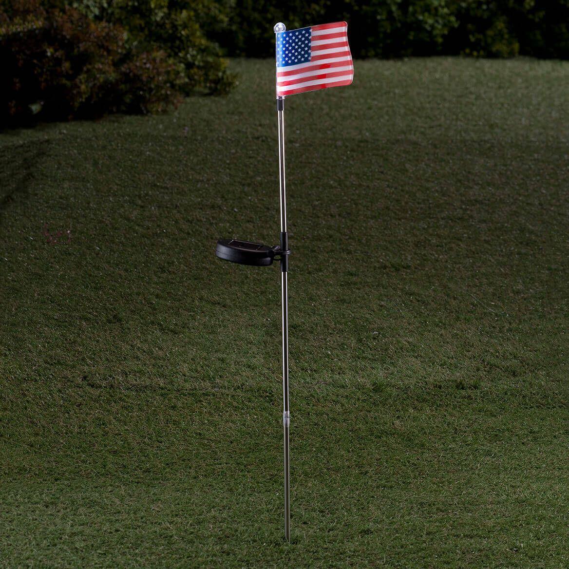 American Flag Solar Light-361695