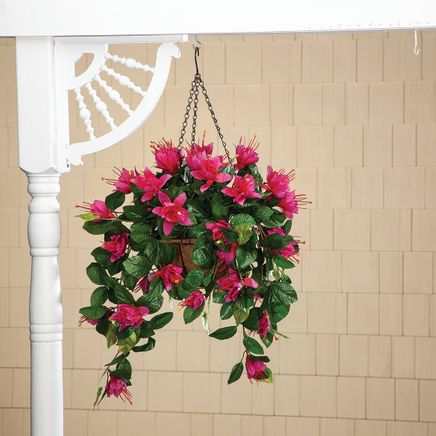 Fully Assembled Fuchsia Basket by OakRidge™-361809