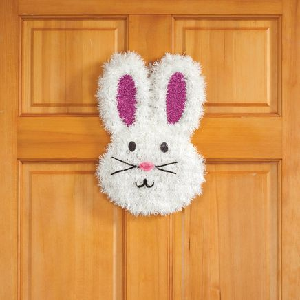 Glitter Bunny Hanging Decoration-361832
