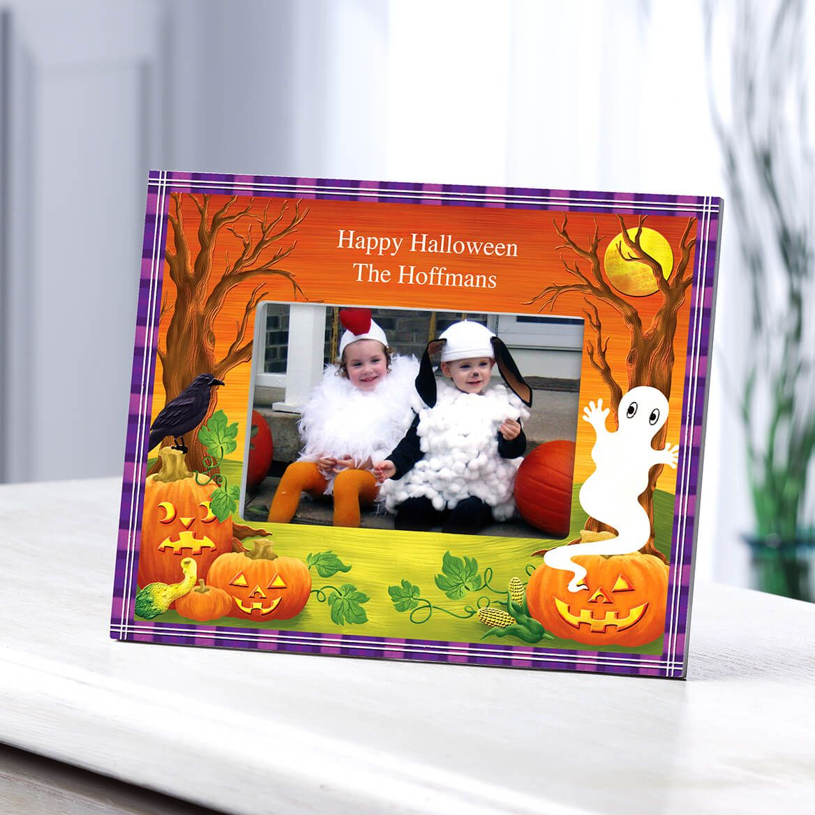 Personalized Haunted Harvest Frame-361932