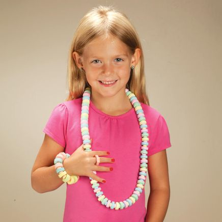 Giant Candy Necklace and Bracelets Set-361934