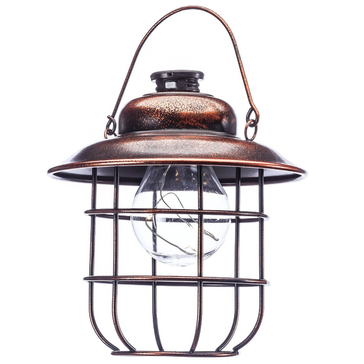 Copper Solar Hanging Lantern-362344