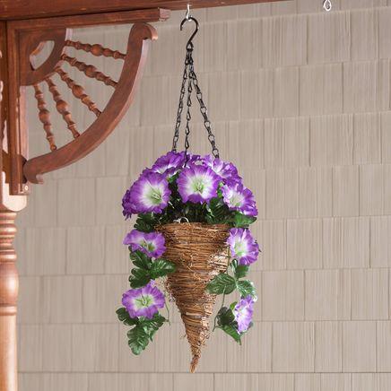 Fully Assembled Petunia Cone Basket by OakRidge™-362418